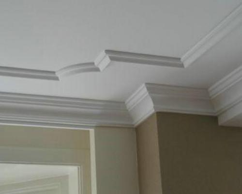Hwd duurzaam plafonds schuifkasten verlichting for Plafond sierlijst