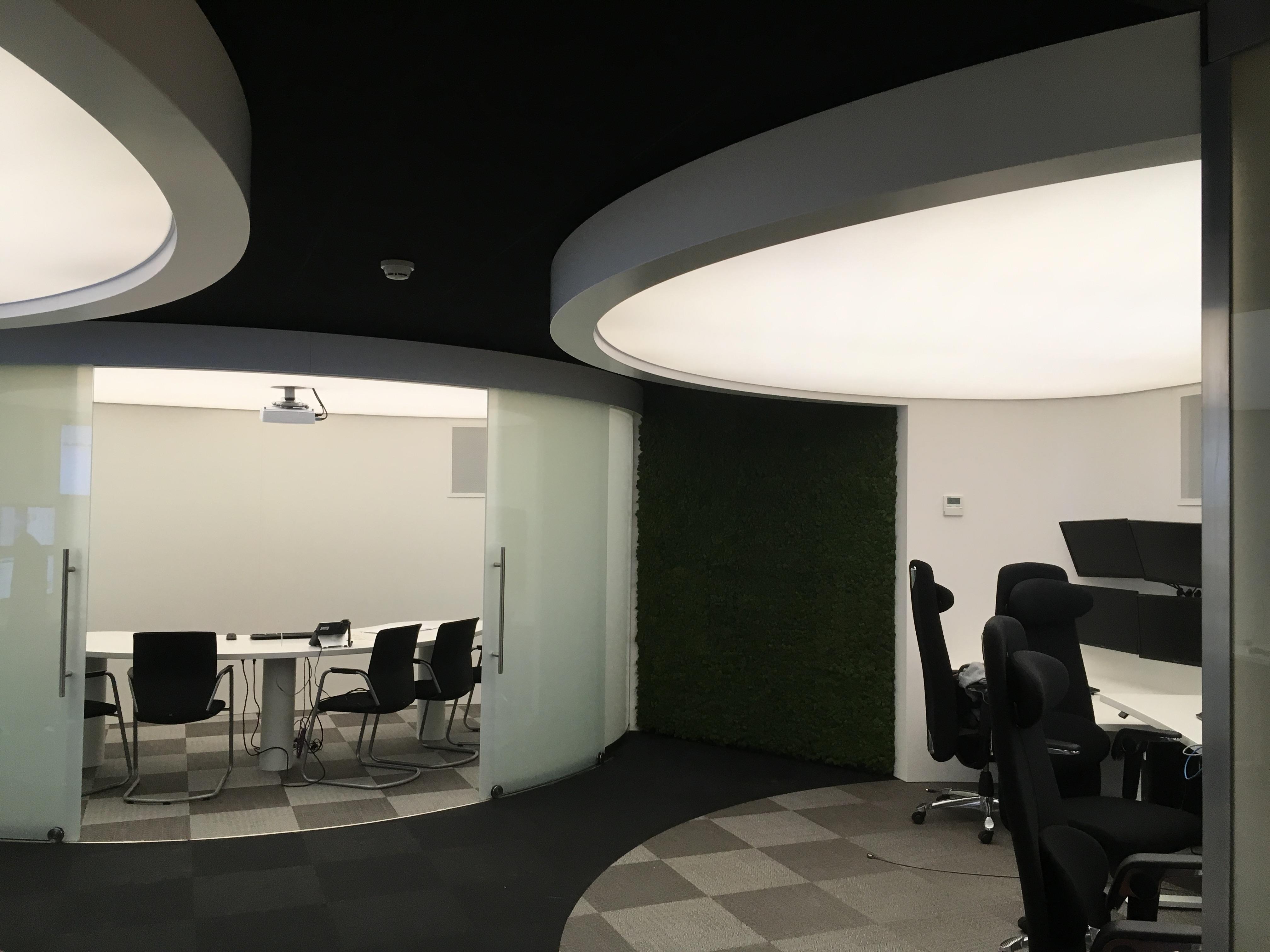 Led verlichting en spanplafonds monteren